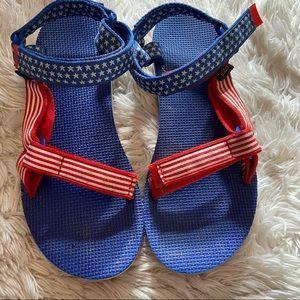 Teva original flag sandals